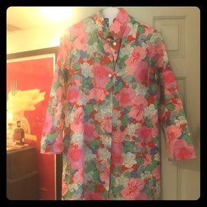 *VINTAGE* 🌺🌸 Flower Power Dress: Saks Fifth Ave